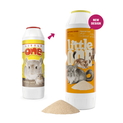 LITTLE ONE  CHINCHILA BATH SAND 1 KG