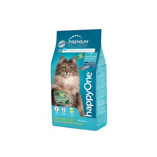 HAPPYONE PREMIUM GATO LIGHT E SENIOR