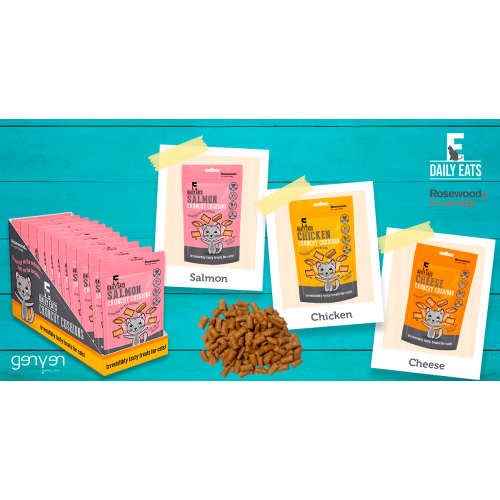 Rosewood Snacks Cat Crunchy Cushions 60 gr