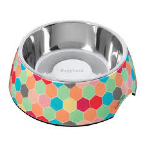 FuzzYard Comedouro The Hive Easy Feeder Pet Bowl