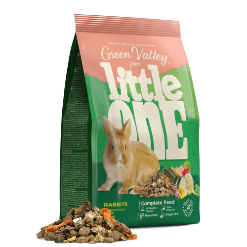 Little One Green Valley ALIMENTO À BASE DE ERVA PARA COELHOS 750 gr