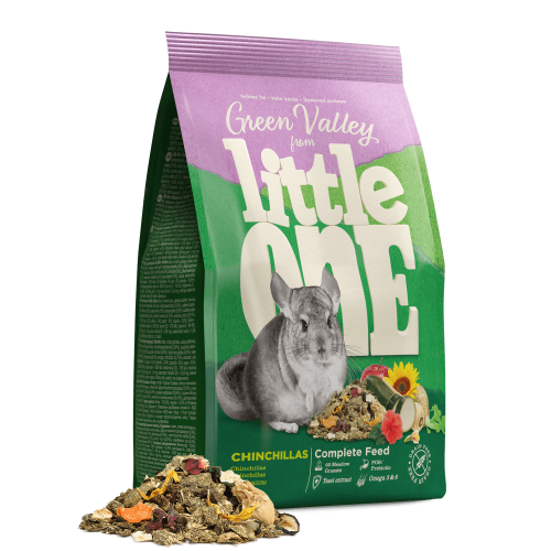 LITTLE ONE ALIMENTO  GREEN VALLEY PARA CHINCHILAS