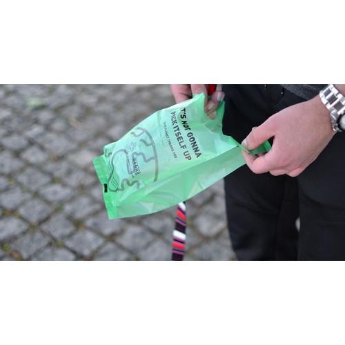 DASHi Poop Bags  SACOS COM ALÇAS Biodegradáveis 120 Unid