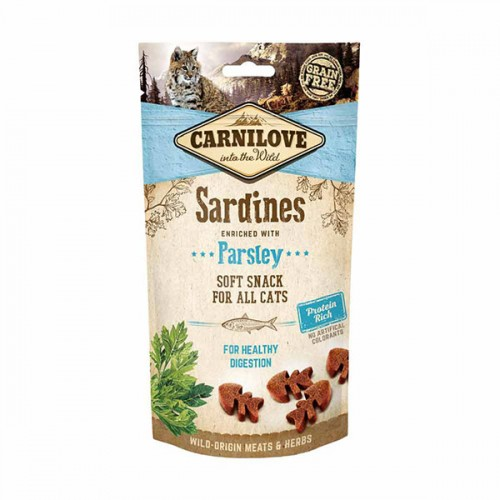 Carnilove  Cat Snack Sardine with Parsley 50 gr