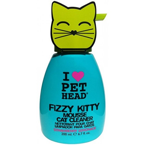 Pet Head Fizzy Kitty Mousse 190 ml