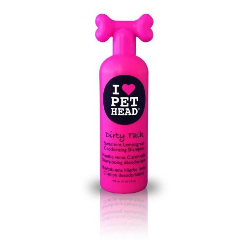 Pet Head Dirty Talk Shampoo para cães 475 ml