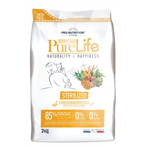Flatazor Cat  Pure Life Cat  Sterilized