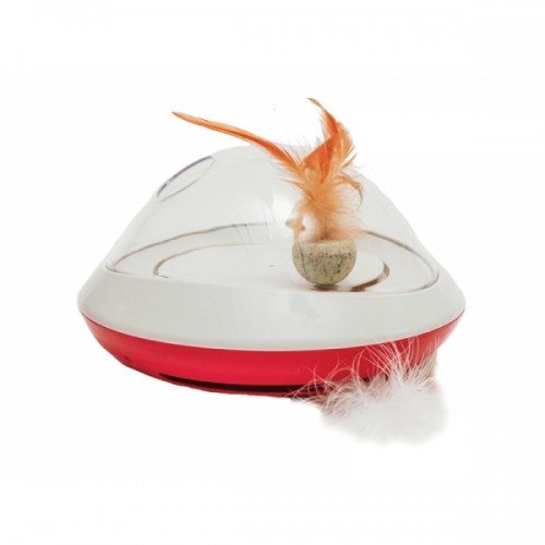 Rosewood Jolly Moggy Feather Chase Toy