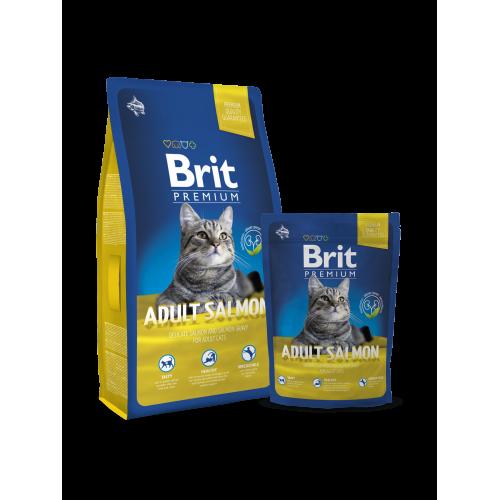 Brit Blue Premium Cat Adult Salmon