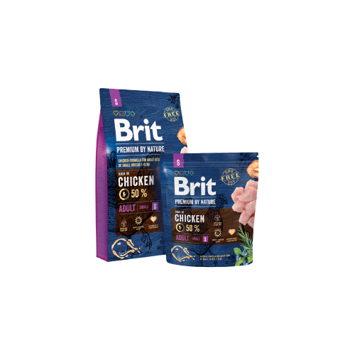 Brit Blue Premium por Nature Adult Mini