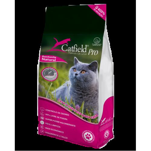 Catfield Premium Cat Litter Talco Areia Aglomerada