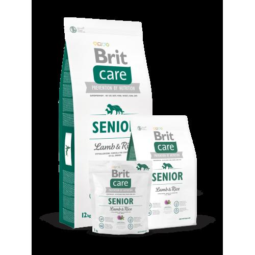 Brit Care Dog Senior Lamb e Rice