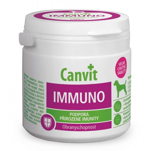 Canvit Immuno For Dogs 100g (100 pastilhas)