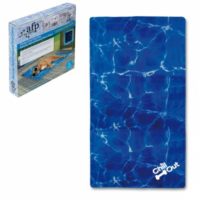 Chill out always cool dog mat tapete refrescante for Tapete cool