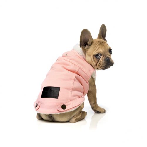 FUZZYARD  Jacket Rebel Pink Denim