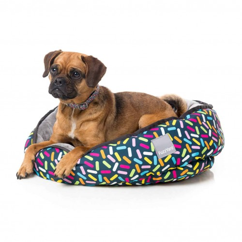 FuzzYard Sugar Rush Reversible Pet Bed