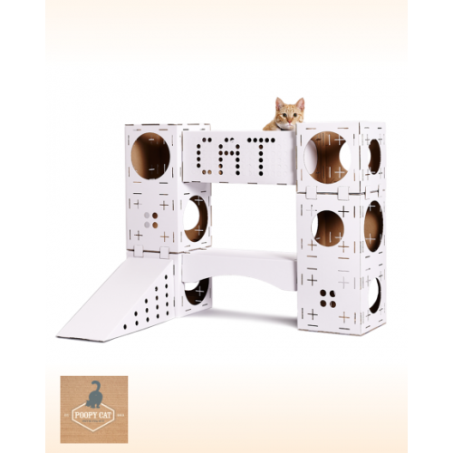 BLOCKS by Poopy Cat Com Oferta de um Poopy Scratcher