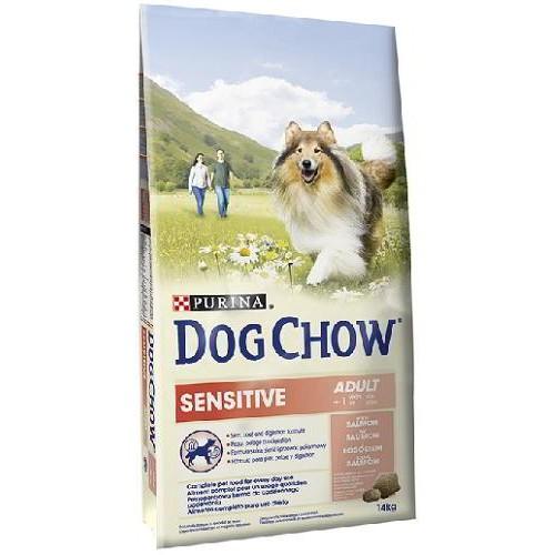 DOG CHOW SENSITIVE SALMÃO 14 Kg