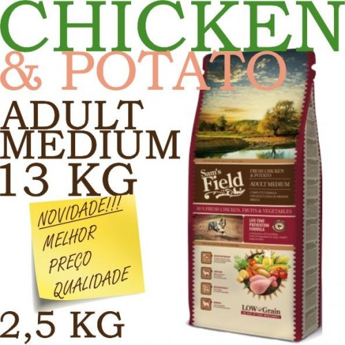 Sam's Field Fresh Chicken & Potato Adult Medium