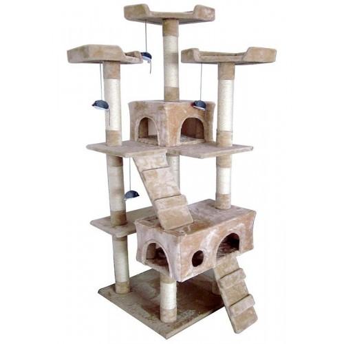Arranhador / Ginásio Para Gatos 170 cm