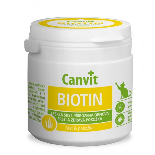 Canvit Biotin For Cats 100 Pastilhas