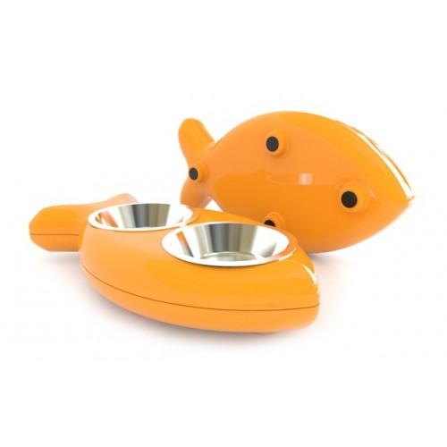 Hing Designs Comedouro The Fish Bowl Cat da Hing