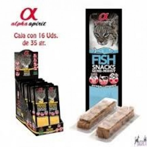 Alpha Spirit Snacks For Cats 35 gr