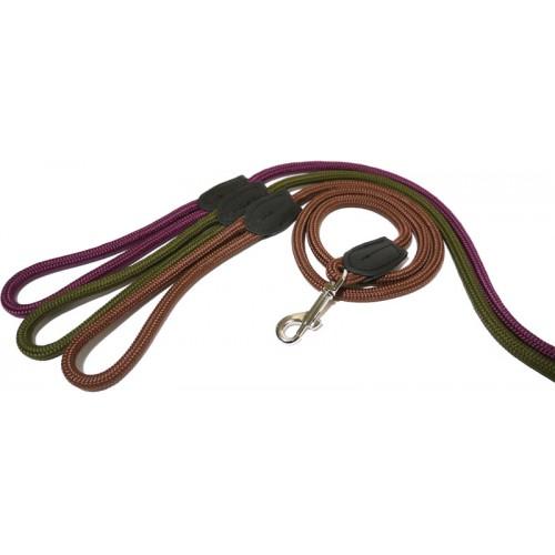 Trela Rosewood Rope Twist Lead